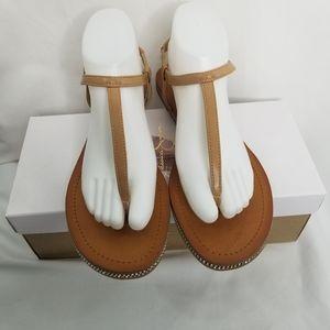NIB Jessica Simpson Buff Sandals